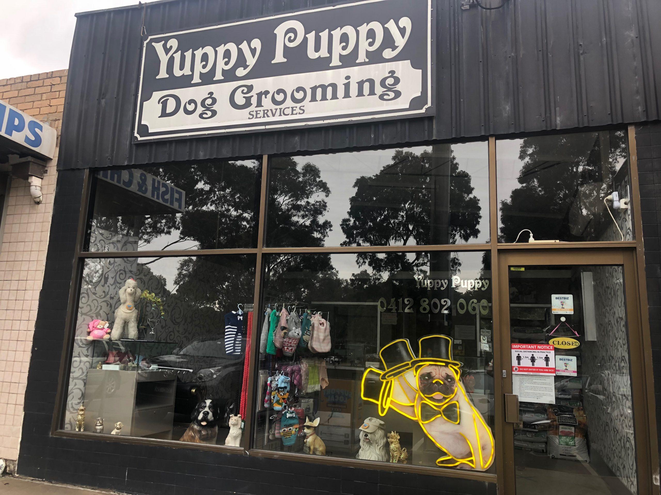 Yuppy Puppy Dog Grooming